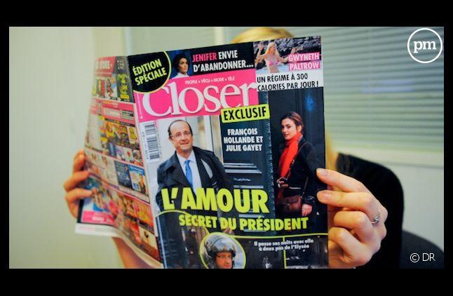 """""""Closer"""" a révélé la liaison entre François Hollande et Julie Gayet"""