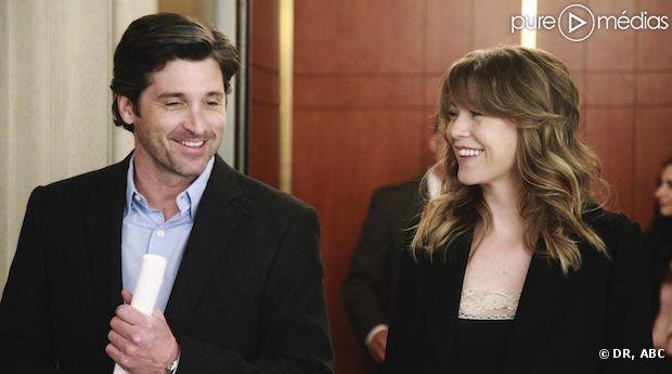 "Patrick Dempsey et Ellen Pompeo restent dans ""Grey's Anatomy"""
