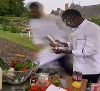La chantilly explose au visage de Dieuveil dans 'Top Chef...