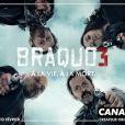 """Publicité pour le lancement de """"Braquo 3"""""""