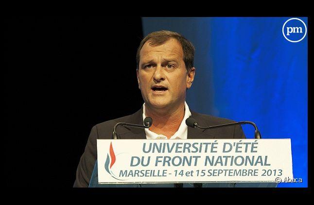 Louis Aliot, vice-président du Front national