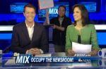 La chaîne américaine ABC se moque de l'envahissement du JT de France 2 par des intermittents