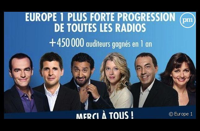 Europe 1 n'inclut pas Laurent Ruquier dans sa campagne de communication