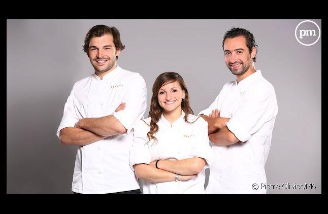 """Thibault, Noémie et Pierre : qui sera le gagnant de """"Top Chef 2014"""" ?"""