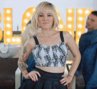 Alizée dévoile le clip de 'Blonde'