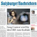 """La Une du quotidien autrichien """"Salzburger Nachrichten""""."""
