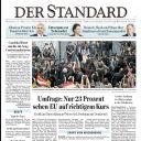"""Le retour au pays de Conchita Wurst à la Une de """"Der Standard"""""""