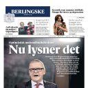"""Deux pages dans le danois """"Berlingske"""""""