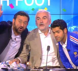 Cyril Hanouna sur i-TELE avec son équipe de 'Touche pas à...