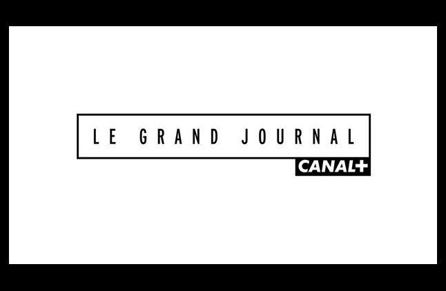 """Le nouveau logo du """"Grand Journal"""" de Canal+."""
