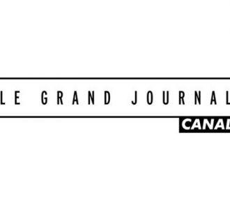 Le nouveau logo du 'Grand Journal' de Canal+.
