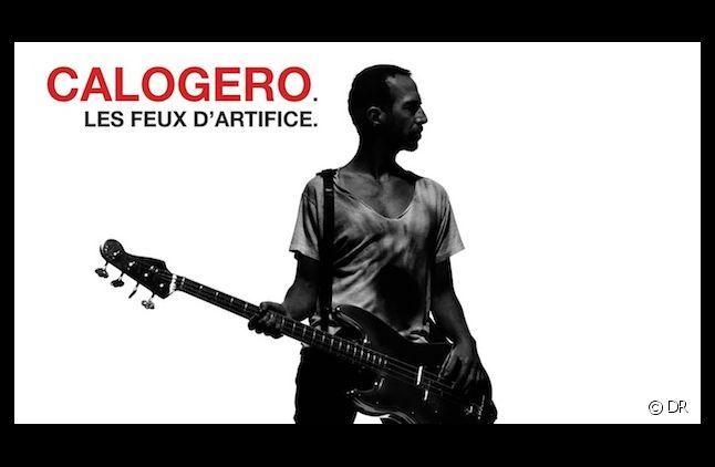 """Calogero en tête du Top Albums avec """"Les Feux d'artifice"""""""