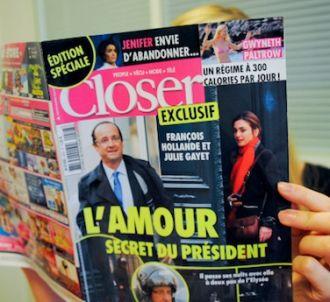 'Closer' a révélé la laison entre François Hollande et...