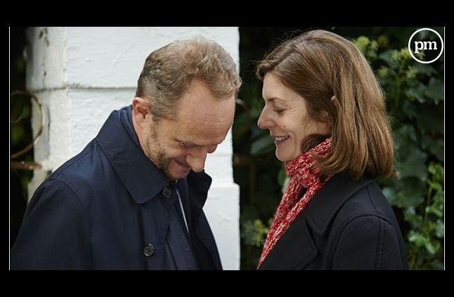 """Benoît Poelvoorde et Chiara Mastroianni dans """"3 coeurs"""" de Benoît Jacquot"""