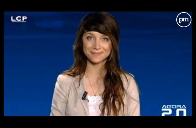 Valérie Brochard, journaliste à LCP.