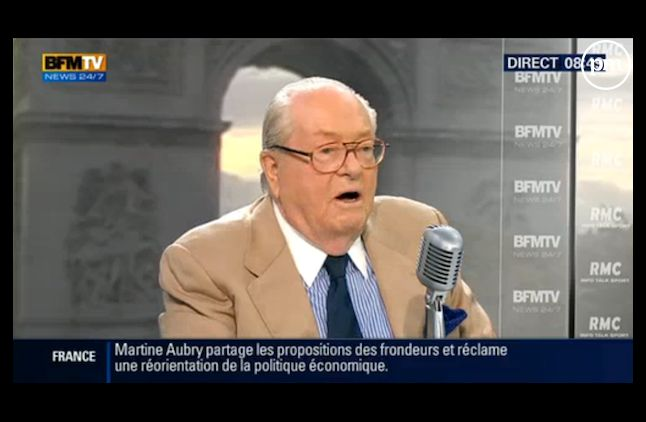 Jean-Marie le Pen soutient Eric Zemmour