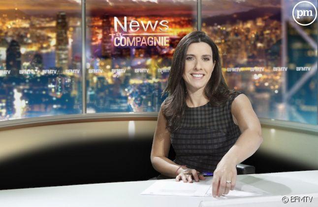 """Nathalie Lévy aux commandes de """"News et compagnie"""" sur BFMTV"""