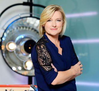 Anne-Elisabeth Lemoine, sur France 5.