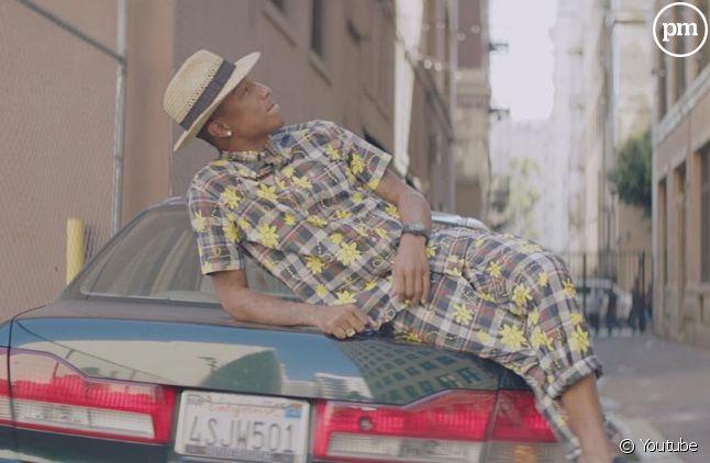 """""""Happy"""" de Pharrell Williams titre le plus vendu sur iTunes US et FR en 2014"""