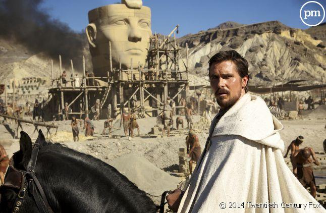 "Christian Bale dans ""Exodus"" de Ridley Scott"