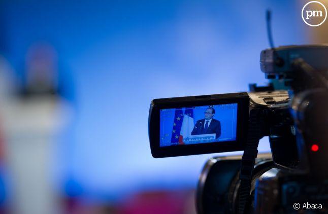 François Hollande interviendra depuis l'Elysée pour ses voeux 2015.