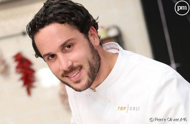 """Florian, candidat à """"Top Chef 2015"""" sur M6."""