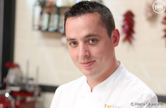 "Christophe, candidat à ""Top Chef 2015"" sur M6."