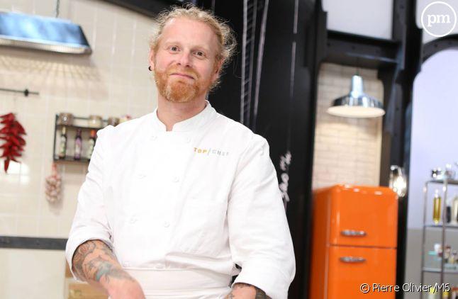 """Nicolas, candidat à """"Top Chef 2015"""" sur M6."""