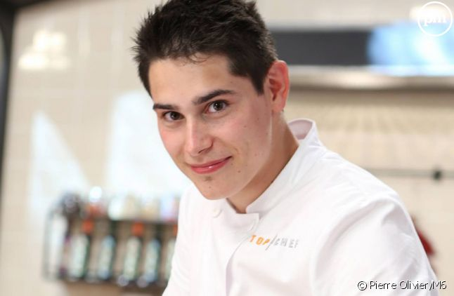 """Xavier, candidat à """"Top Chef 2015"""" sur M6."""
