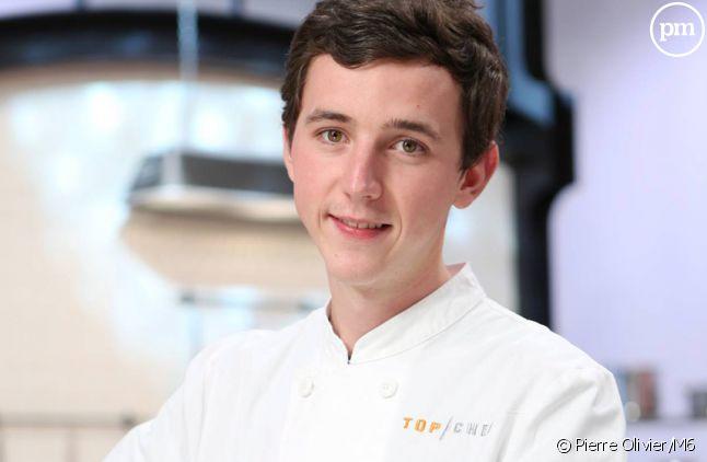 """Martin, candidat à """"Top Chef 2015"""" sur M6."""