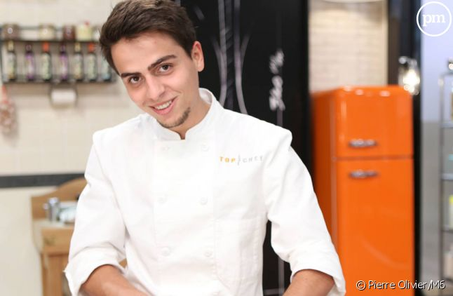 """Jean-Baptiste, candidat à """"Top Chef 2015"""" sur M6."""