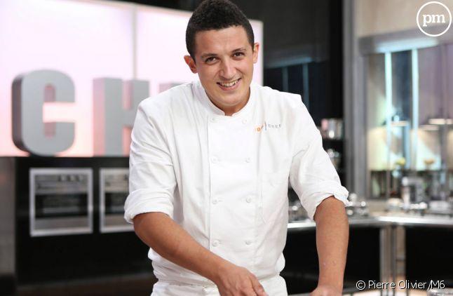 """Adel, candidat à """"Top Chef 2015"""" sur M6."""
