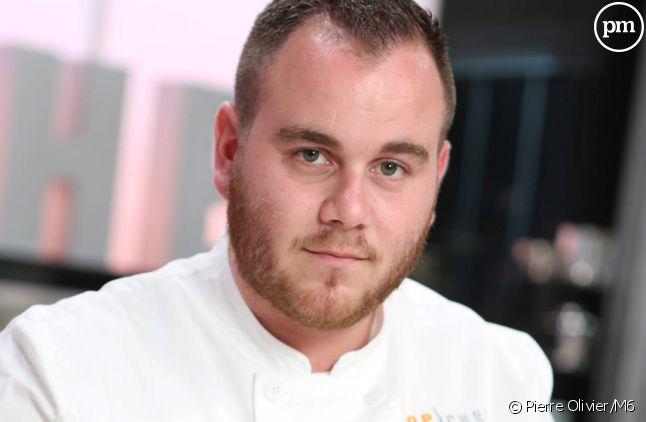 """Pierre, candidat à """"Top Chef 2015"""" sur M6."""