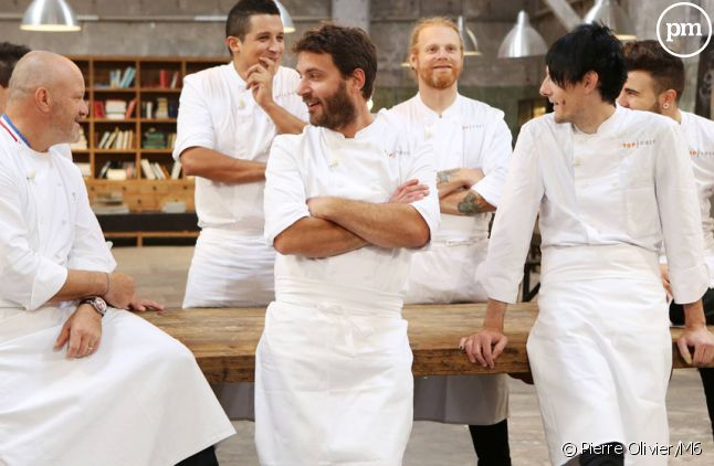 "Les candidats à ""Top Chef 2015""."