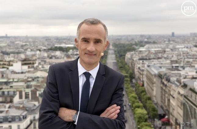 Gilles Bouleau présentera avec Christophe Dechavanne la soirée des 40 ans de TF1