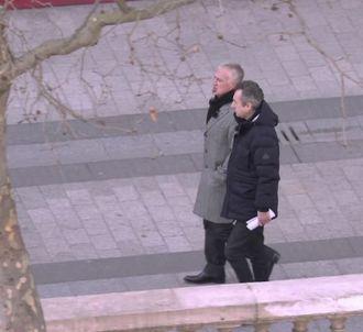 Didier Deschamps et Michel Denisot.