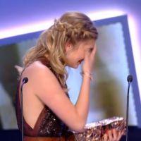 César 2015 : Louane très émue en décrochant le trophée du meilleur espoir féminin