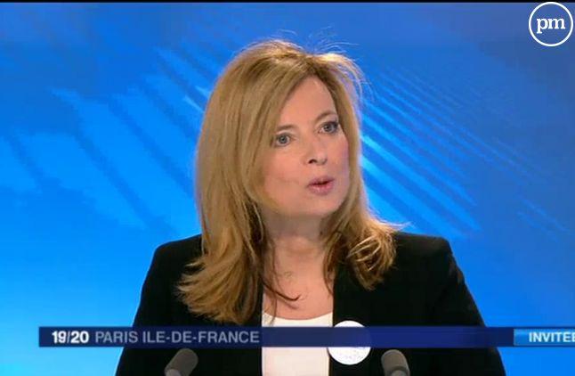 Valérie Trierweiler, interviewée gentiment sur France 3 le 15 mars 2015.