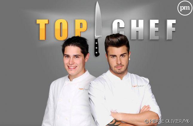 "Xavier et Kevin, finalistes de ""Top Chef"" 2015"