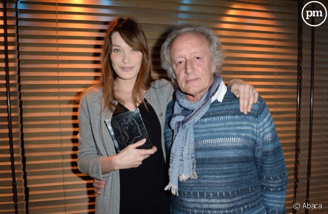 Didier Barbelivien avec Carla Bruni