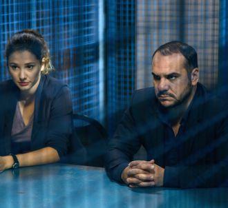Alice Pol et François-Xavier Demaison dans 'Disparue'