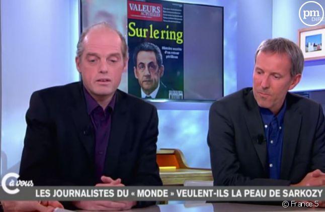 Gérard Davet et Fabrice Lhomme (Capture)