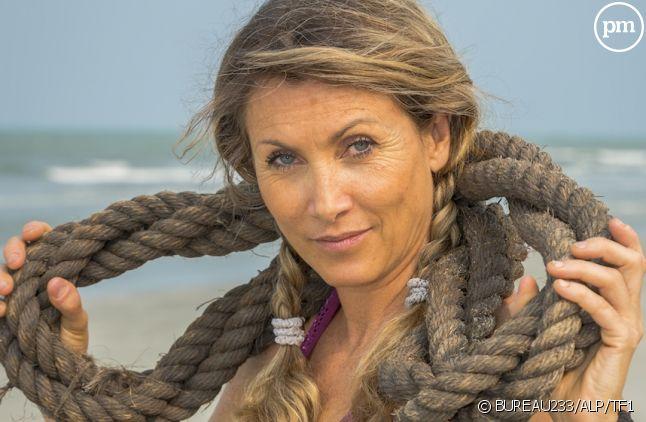 """Chantal dans """"Koh-Lanta"""" 2015"""