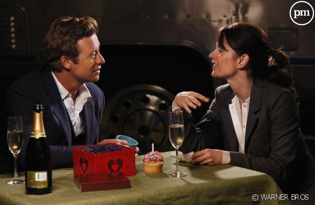 """Simon Baker et Robin Tunney dans """"Mentalist"""" saison 7"""
