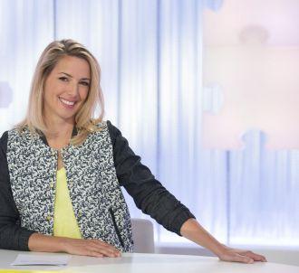 Sidonie Bonnec présente 'Les Maternelles' sur France 5.