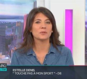 'Médias le mag, l'interview' avec Estelle Denis