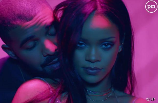 """Drake et Rihanna dans le clip de """"Work"""""""