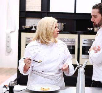 Hélène Darroze face à Xavier dans 'Top Chef' 2016