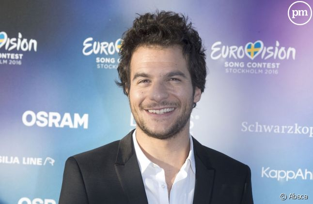 Amir, arrivé sixième de l'Eurovision 2016