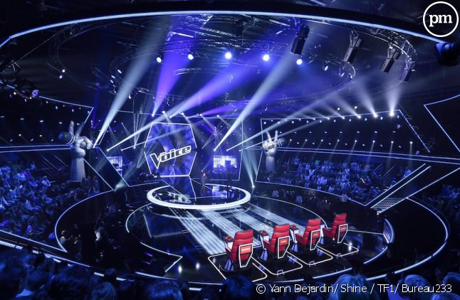 "Le plateau de ""The Voice"""